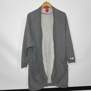 Nike tech cardigan cacoon sweatshirt